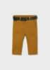 Παντελόνι μακρύ λοξότσεπο με ζώνη Baby αγόρι Mayoral