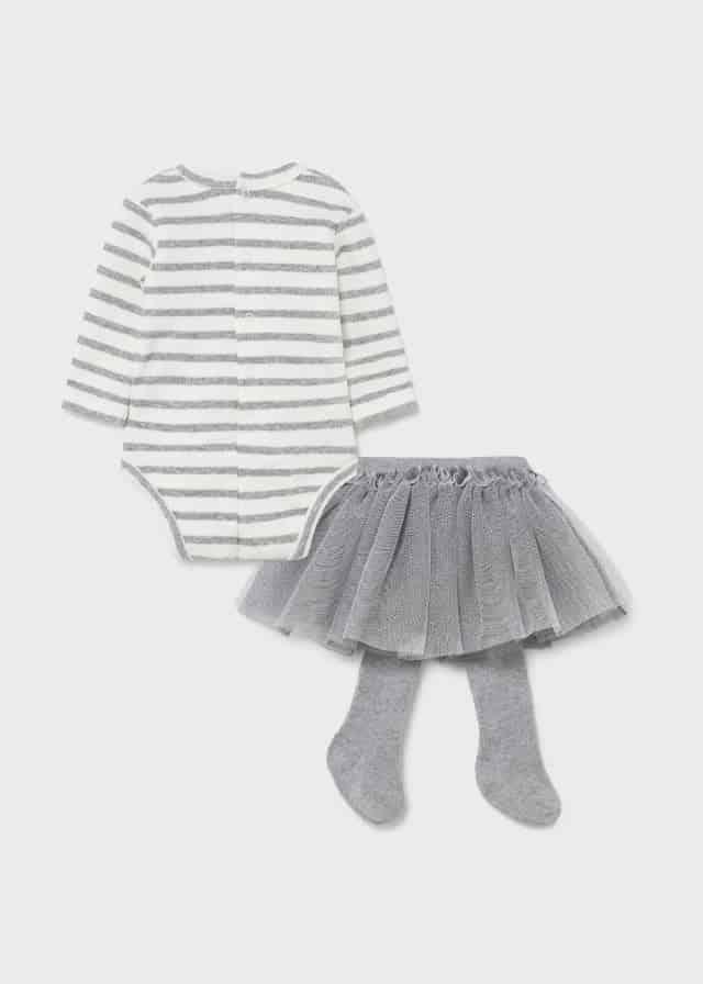 Σετ φούστα τούλι Νεογέννητο κορίτσι από 0 έως 18 Μηνών Mayoral.